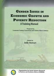 GENDER ISSUES IN ECONOMIC GROWTH AND POVERTY REDUCTION